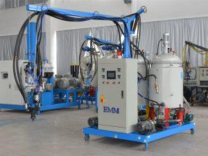 kepadatan tinggi cina tekanan rendah PU busa isolasi mesin EMM084-1