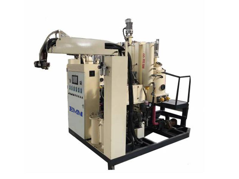 Suhu menengah PU busa mesin elastomer poliuretan casting