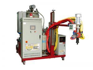 mesin pengecoran elastomer suhu menengah poliuretan