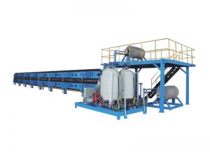 lini produksi panel molding poliuretan terus menerus