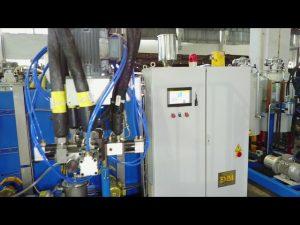tiga komponen elastomer poliuretan menuangkan mesin / pu elastomer menuangkan mesin / cpu menuangkan mesin